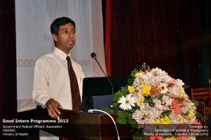 Dr Padeniya Founder of Good Intern Programme