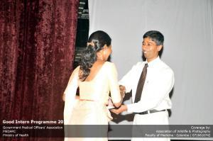 Dr Padeniya  with awards