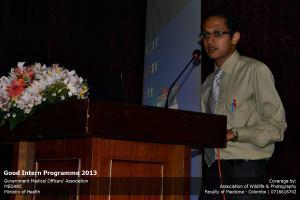 Dr Sharada in GIP
