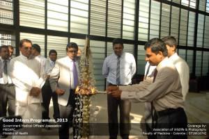 GIP oil lamp Dr Samans Secretary
