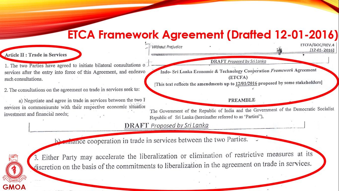 ETCA new agreement