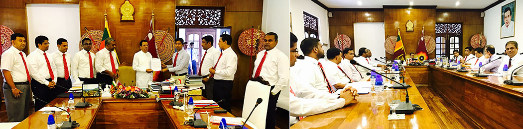 GMOA Meets His Excellency on SAITM Issue